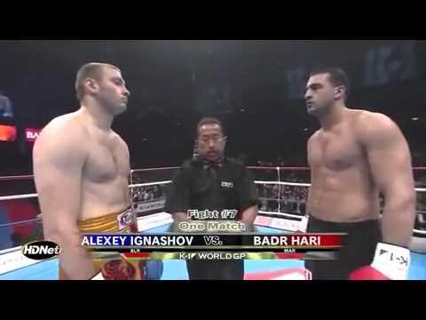 Badr Hari Vs Alexey Ignashov -