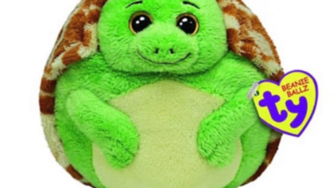 Ty Beanie Ballz Zoom The Turtle (medium) - YouTube 92251a4a7b0