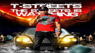 "T-Streets Ft. Lil Wayne "" Red Bandana "" Lyrics (Free To The Streets Is Watching Mixtape)"