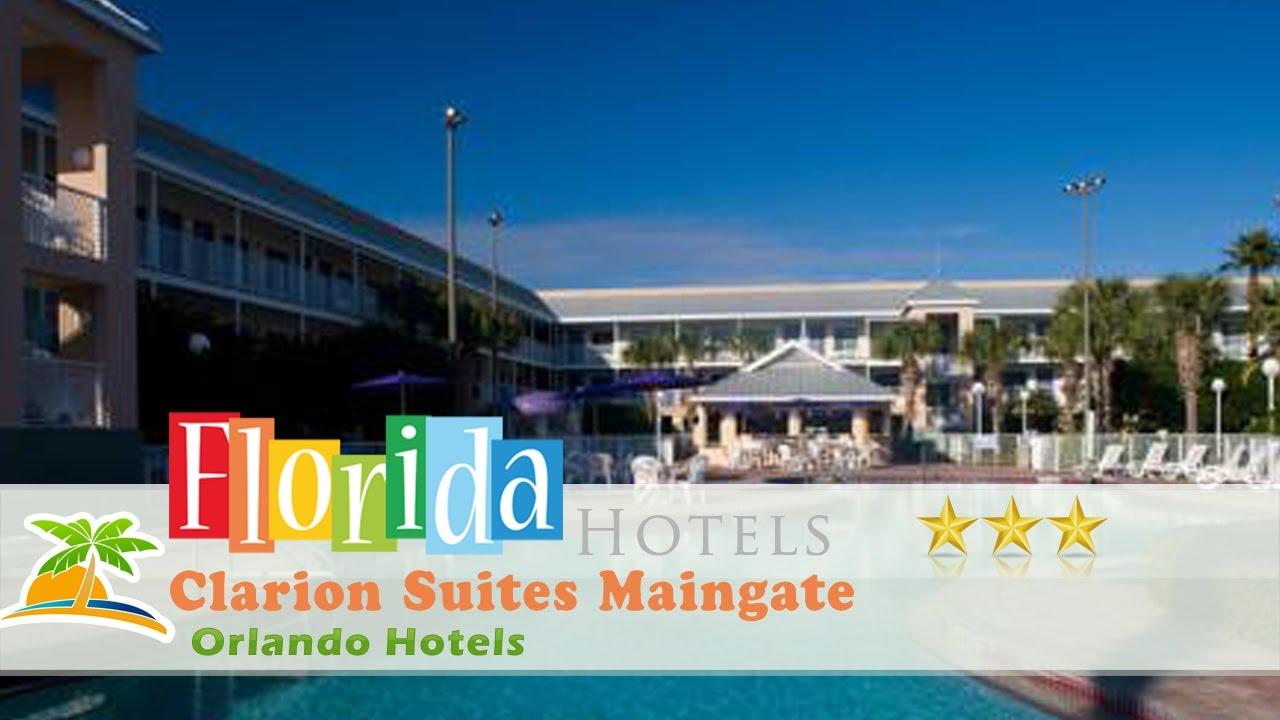 clarion suites maingate orlando hotels florida youtube. Black Bedroom Furniture Sets. Home Design Ideas