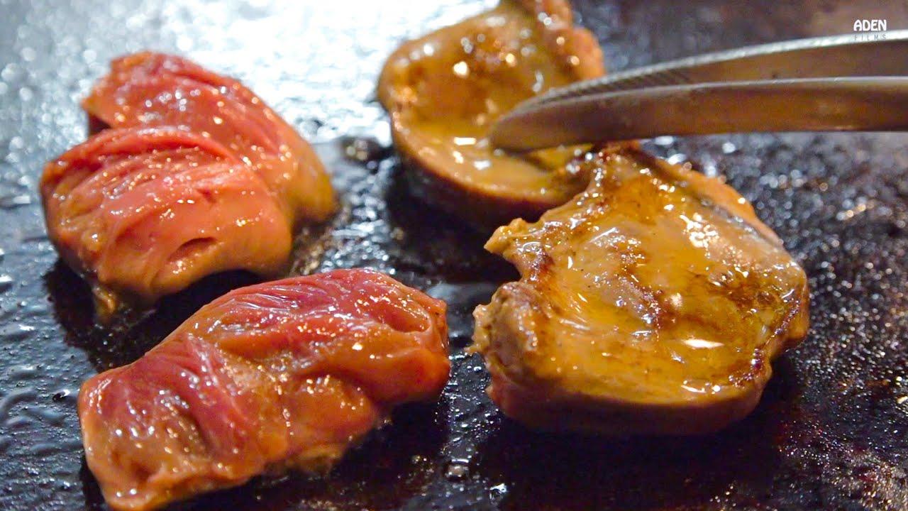 Olive Chicken in Takamatsu - Teppanyaki in Japan