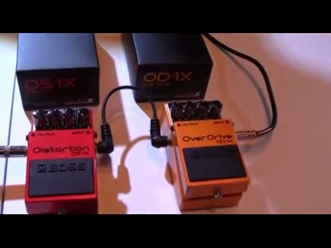 BOSS DS1X + OD1X - NAMM 2014 - Product Demo
