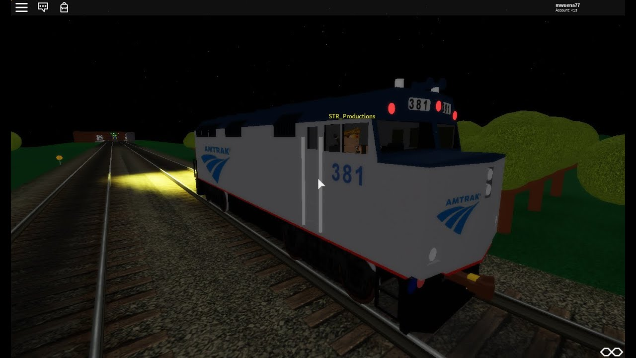 Roblox Amtrak Roblox Amtrak Rail Service Employee Of The Month May 2020 Youtube