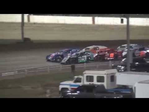 Farley Speedway IMCA Modified feature 4/17/15