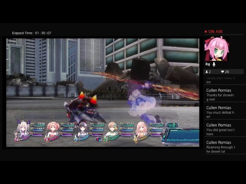 Omega quintet pt6g8: to the grand fucking theatre for a fucking close up of cute panties and lewds