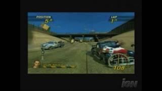 FlatOut: Head On Sony PSP Gameplay - Racing