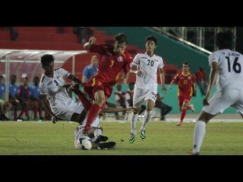 Kyrgyzstan vs Myanmar: AFC Challenge Cup 2014 (Full Match)