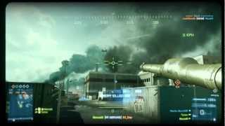 Battlefield 3 - Shoot it down! Tank vs helicopter