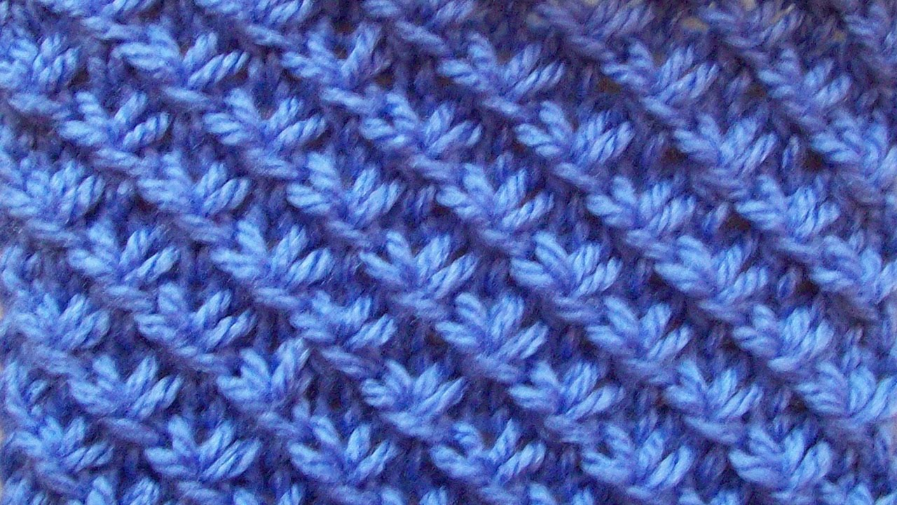 узор для вязания толстыми спицами