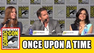 Once Upon a Time Comic Con 2015 Panel - Lana Parrilla, Ginnifer Goodwin, Jennifer Morrison, Season 5