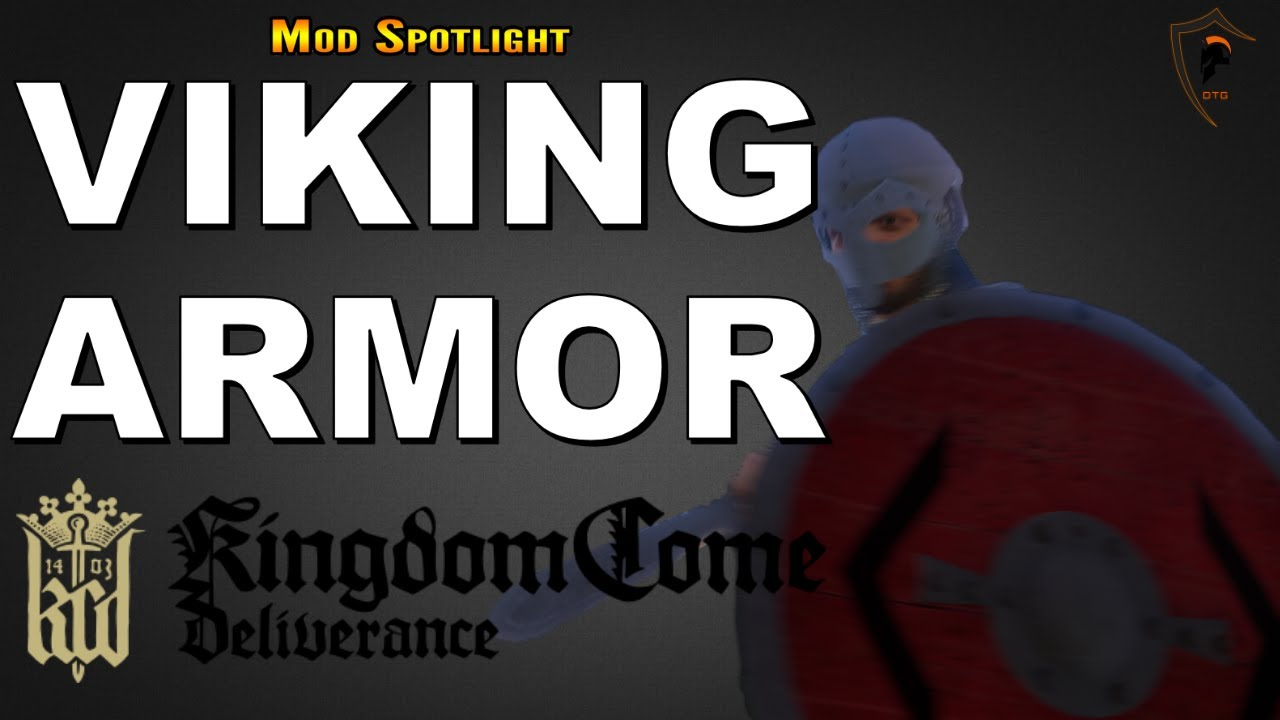 Kingdom Come Deliverance - Viking Armor and Weapons - Ragnar's Axe and  Shield (KCD Mod Spotlight)