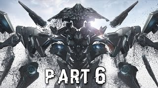 Halo 5 Guardians Walkthrough Gameplay Part 6 - Warden - Campaign Mission 5 (Xbox One)