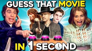 Guess That Movie In One Second Challenge ft. Zombies 2 Cast