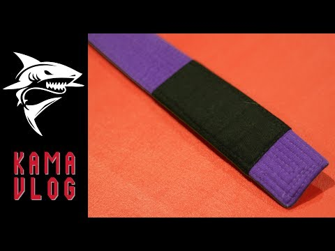 You are a PURPLE BELT.... NOW WHAT? - Kama Vlog