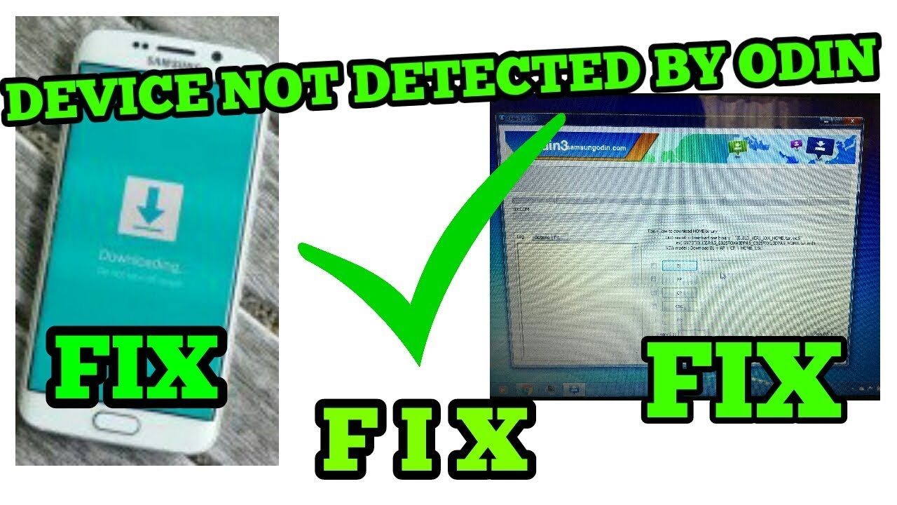 DEVICE NOT DETECTED BY ODIN FIX | SAMSUNG DEVICES