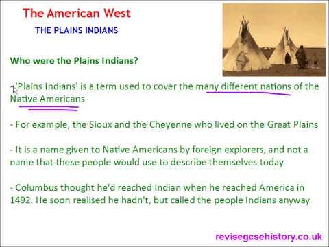 American West - The Plains Indians - The Great Plains