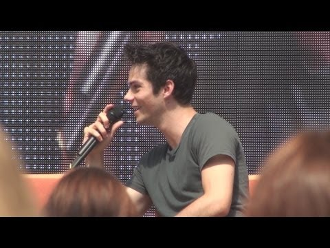 Dylan O'brien | Full Panel at Alpha Con, 2014, Vienna