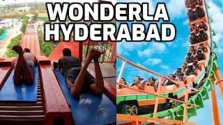 Wonderla Amusement Park Hyderabad | All Water & Dry Rides | Roller Coaster | Giant Wheel | Tickets