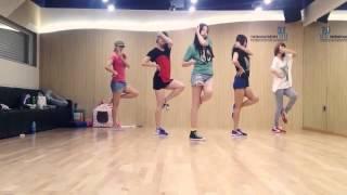Wonder Girls - Like Money Dance Practice (Mirrored Version)