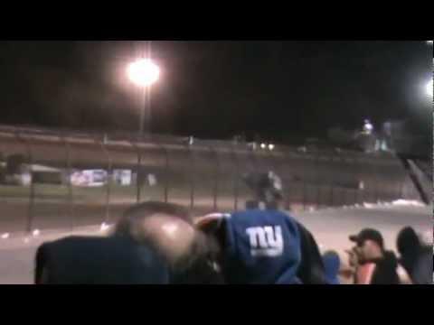 2012 Rolling Wheels Raceway Park Jessica Zemken World of Outlaw Sprint Cars