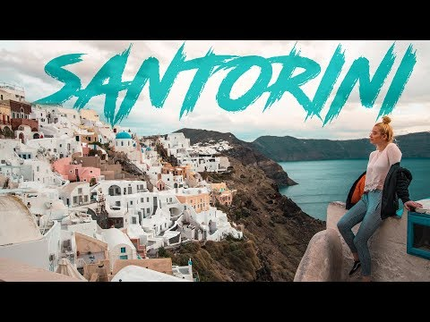 GoPro: One Day at Santorini💙(Travel Video)