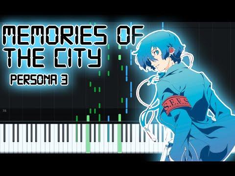 Memories Of The City Piano Tutorial - Persona 3 [+ sheet music, mp3, MIDI] thumbnail