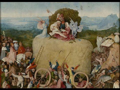 Obra comentada: Tríptico del carro de heno, El Bosco (h