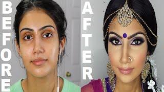 Indian/Bollywood/South Asian Bridal Makeup | Start to Finish | Mona Sangha