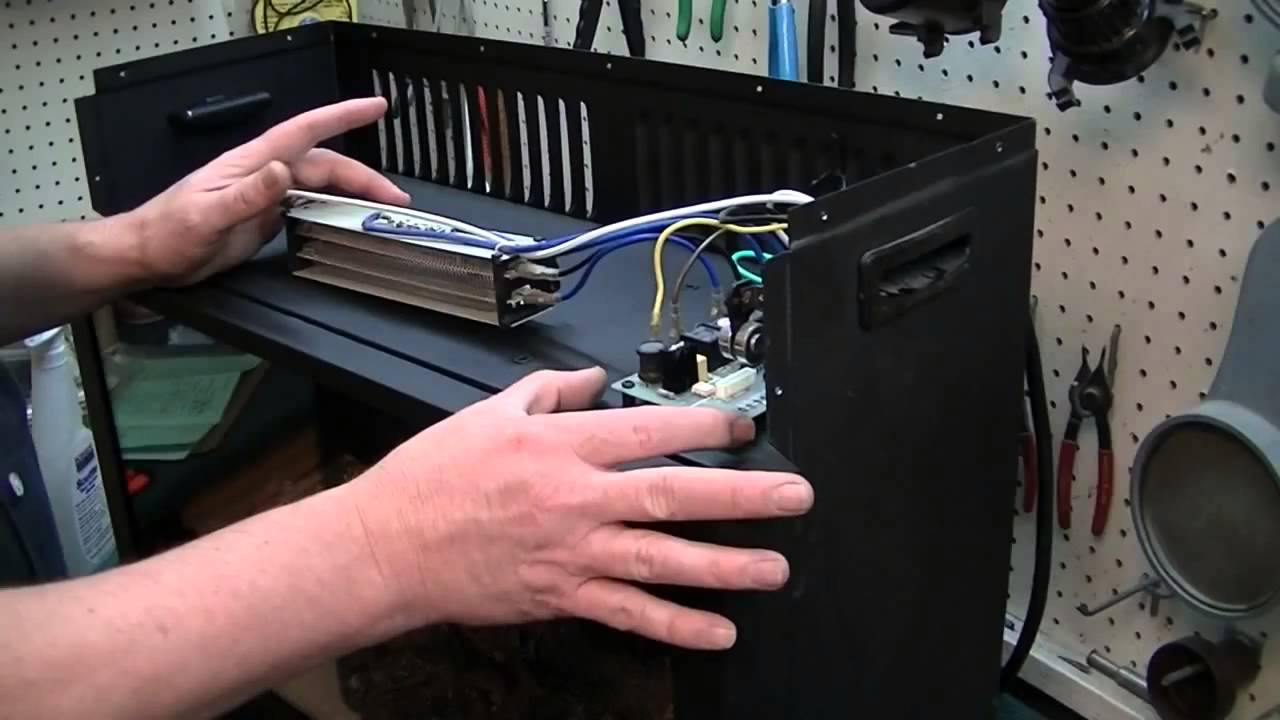 How to Repair Your Heat Surge Fireplace - YouTube