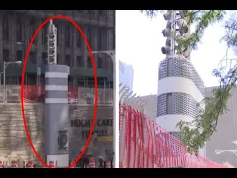 Mysterious Metal Towers Appear Across New York – And No One Knows Why