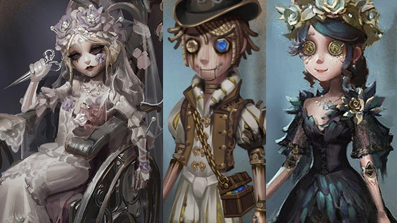 3rd Anniversary Costumes – Design development / Identity V