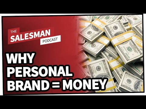 Why Personal Brand = MONEY With Jack Kosakowski | Salesman Podcast