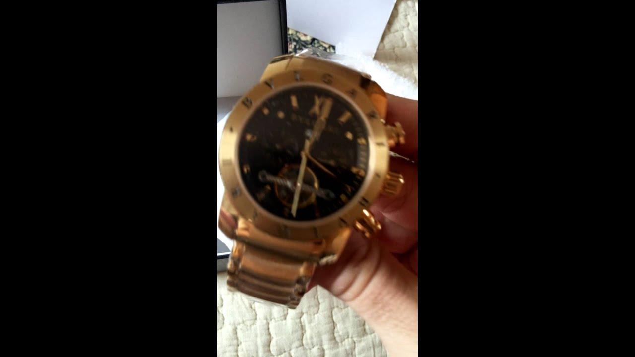 ee4acf808b8 Relógio Bvlgari Iron Man - YouTube