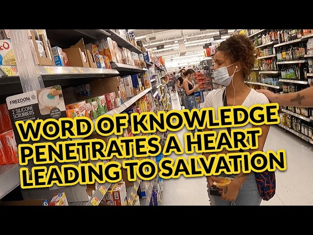 Word of Knowledge Penetrates a Heart Leading to Sweet Salvation