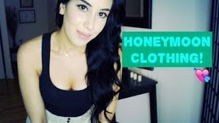 pre honeymoon clothing haul pt 1 try on dresses bathing suits cover ups more