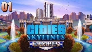 PUTTÓFALVA ÚJ ÉVAD 🐧 Cities Skylines Campus  1. Rész