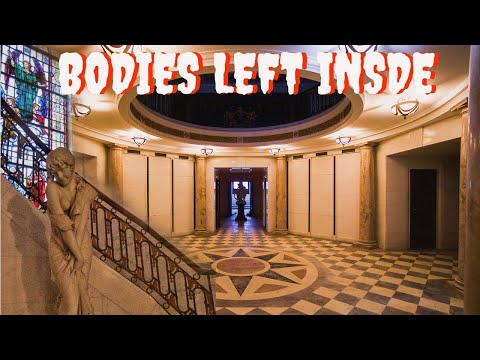 Abandoned Mausoleum *BODIES LEFT BEHIND*