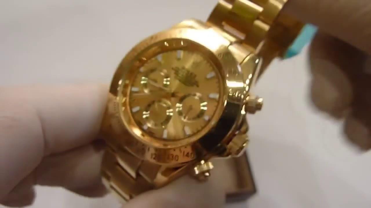 Часы ФИЗРУКА! Rolex Daytona из Китая! ОБЗОР - YouTube