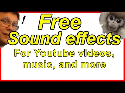 Free sound effects download: For youtube videos & music projects