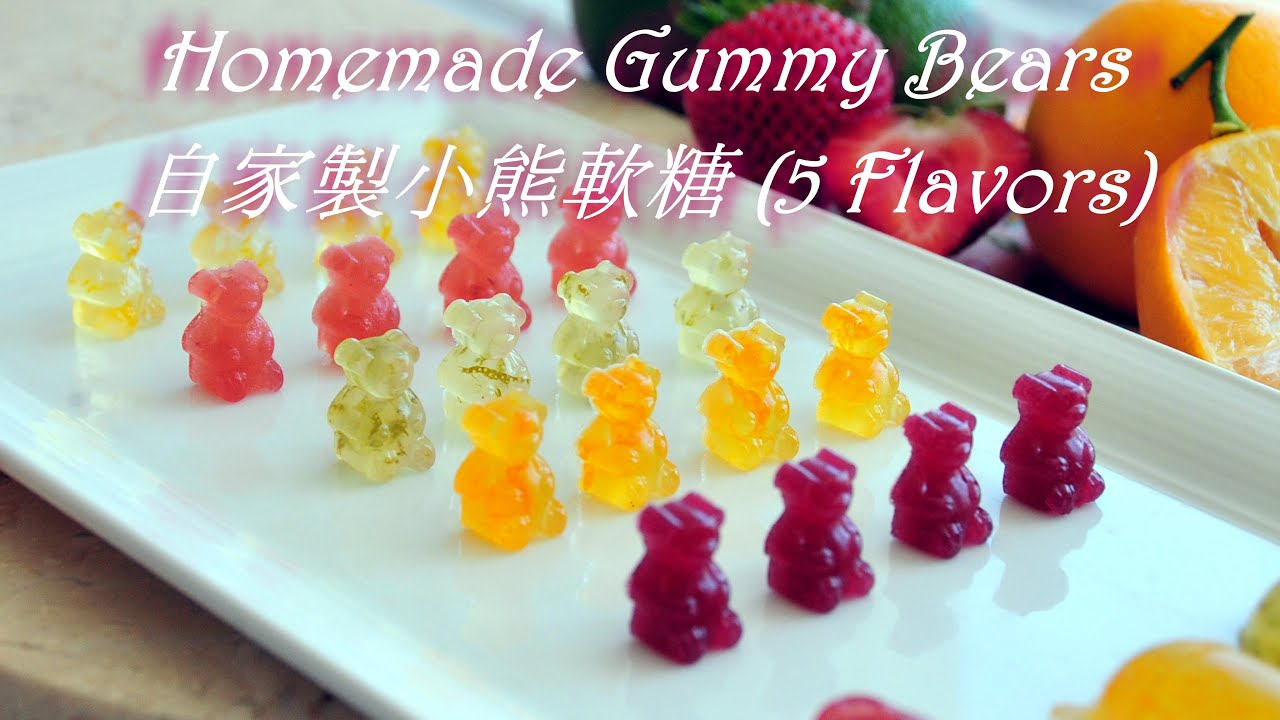 how to make homemade weed gummy bears