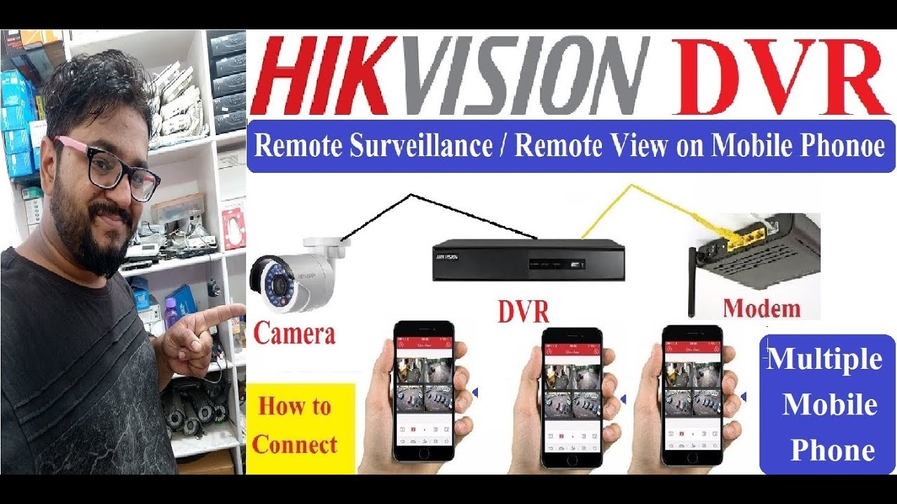 Hikvision Remote View in Multiple Mobile Phone! Hik-Connect 2nd