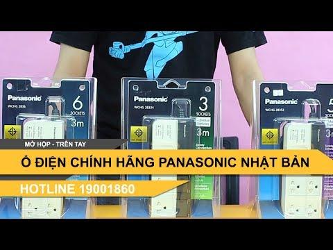 Ổ điện 3 Chấu 2 Chấu Của Nhật Hãng Panasonic