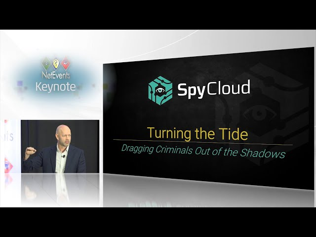 Turning the Tide: Dragging Criminals Out of the Shadows - Keynote presentation by Ted Ross