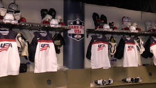 Team USA Locker Room Tour - Bell Centre - 2015 World Junior Championship