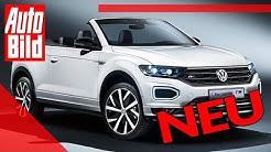 VW T-Roc Cabrio (2020): Neuvorstellung - SUV - Infos