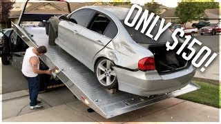 PURCHASED THE CHEAPEST RUNNING BMW E90 IN THE WORLD!