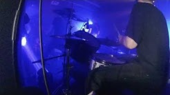 Telepathy - DRUM CAM - Smoke From Distant Fires @ Vortex Club, Siegen (DE)