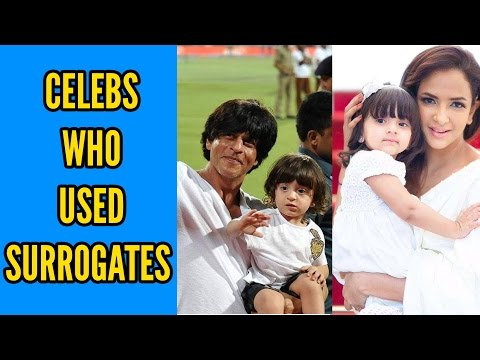 Celebs Who Became Parents Through IVF-Surrogacy
