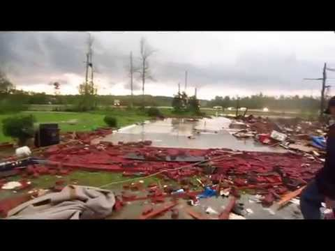 Immediately after LOUISVILLE MISSISSIPPI TORNADO  4-28-14