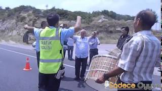 Trakya'da Trafik Polisi Olmak Zor İş